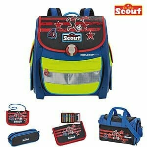 Scout Schulranzen Set Buddy World Cup   SC101174