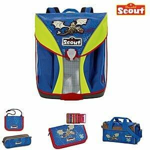 Scout Nano Schulranzen Set Drache SC101167