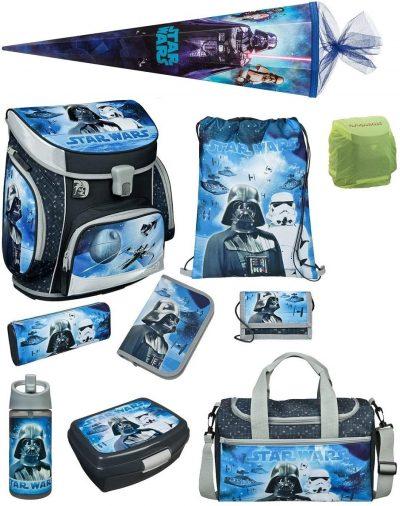 Star Wars Schulranzen Set 10 teilig gesamt big